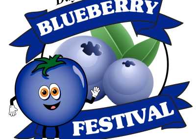 Blueberry Festival Logo