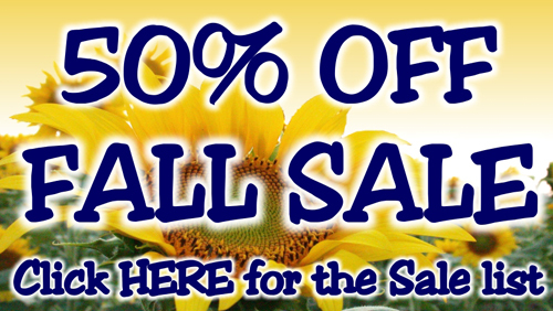 It's Fall Sale Time!